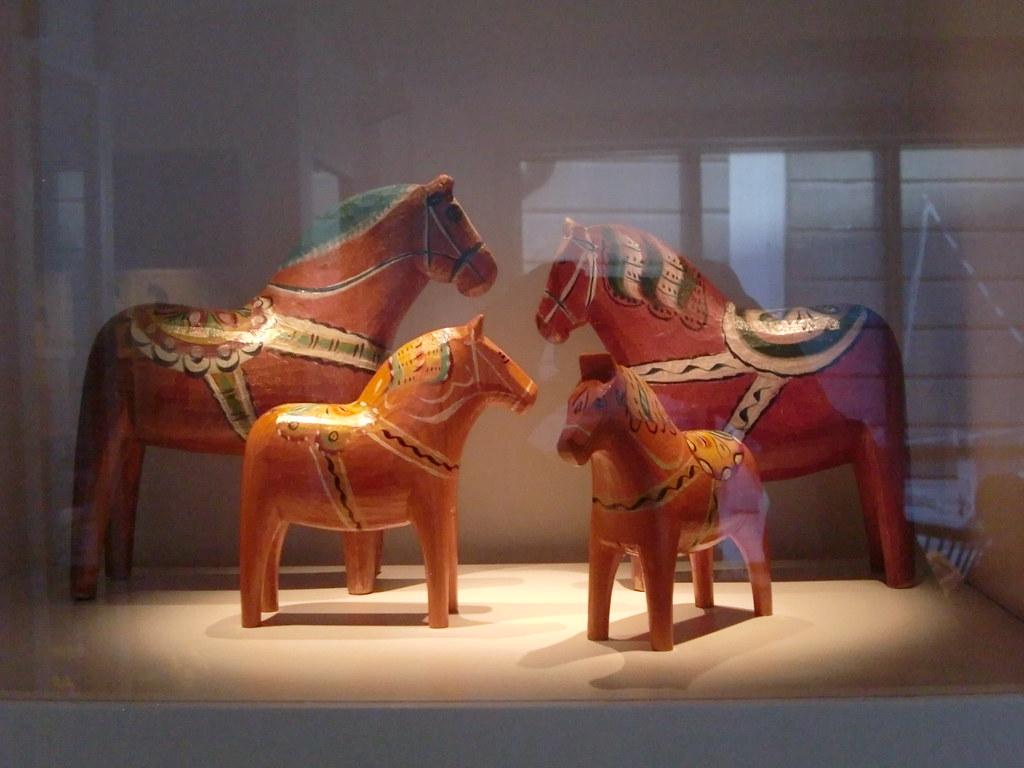 Dalarna Horse of Dala Horses in Dalarnas