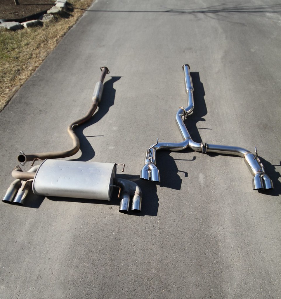 2011 sti oem exhaust to pampl exhaust kenny williams flickr
