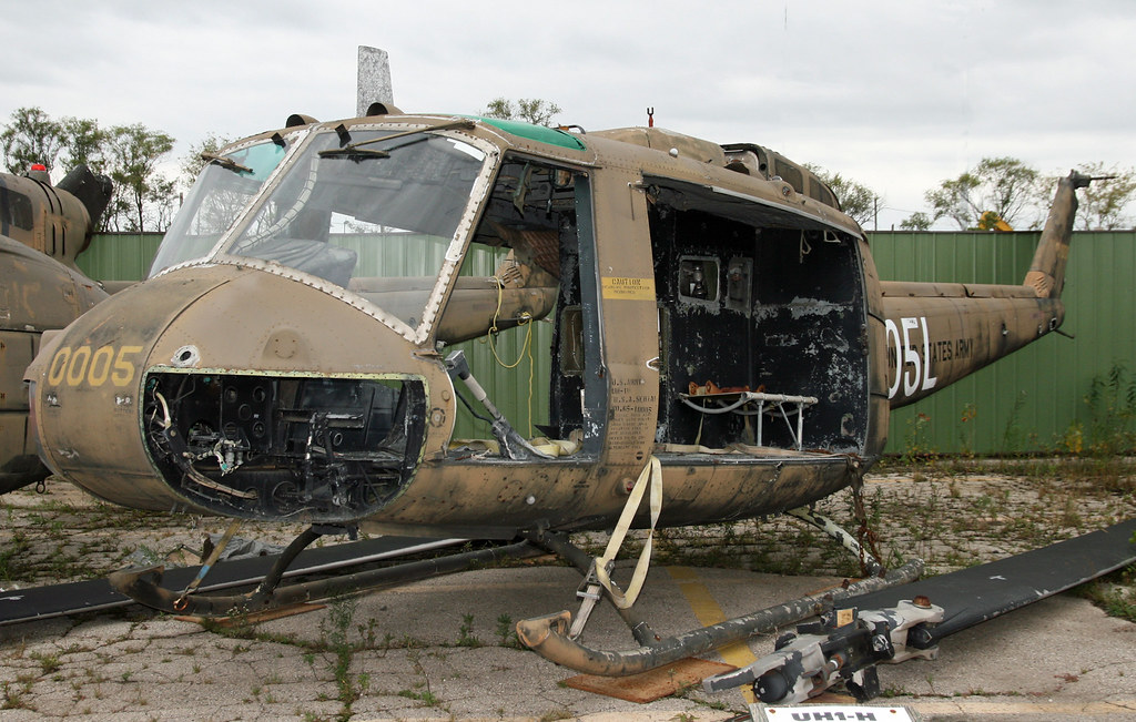 Huey Helicopter For Sale >> Bell UH-1H Iroquois (65-10005) | Old Huey, defintely seen be… | Flickr