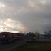 Fire at Recycling Centre Huntingdon