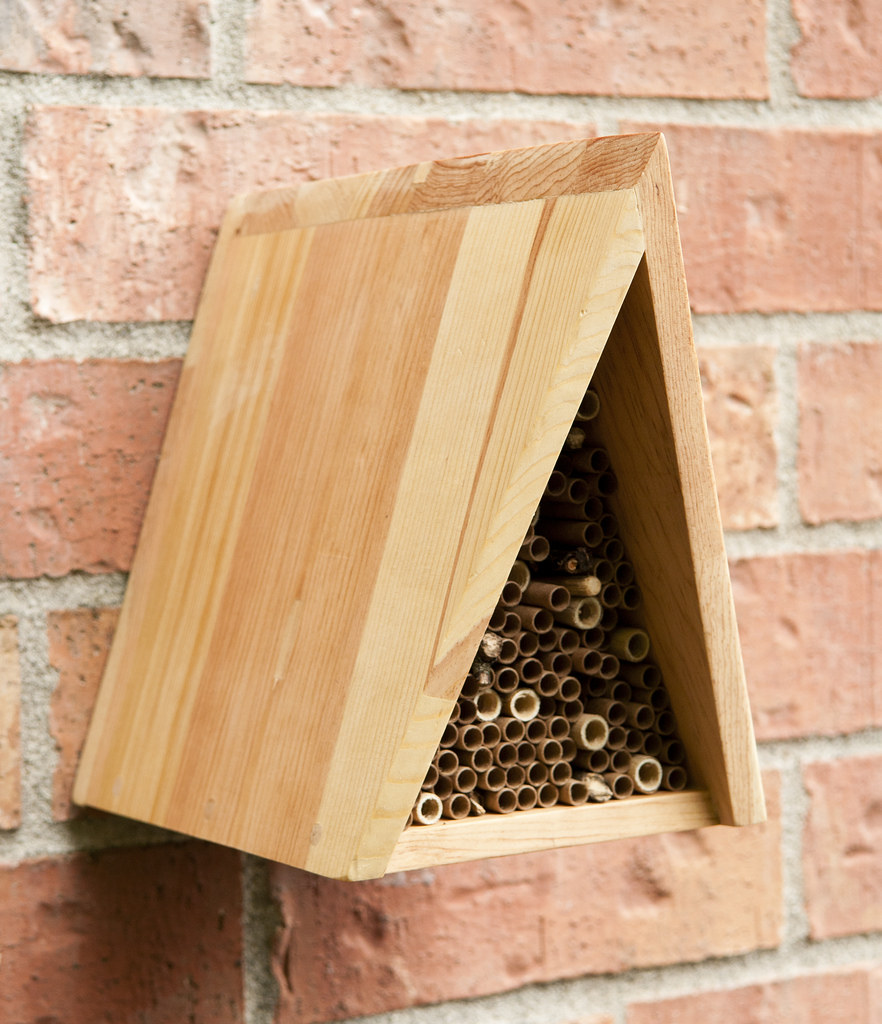 A Frame Mason Bee House Made By Guatemalan Carpenters In