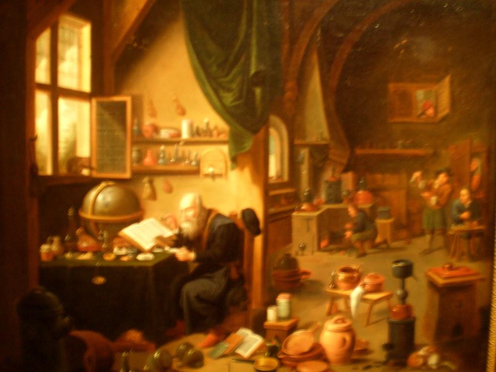 David Teniers Ii Circle Of Alchemist S Workshop The G
