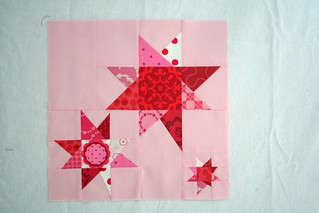 Wonky Star block for Rachel | by freshlypieced