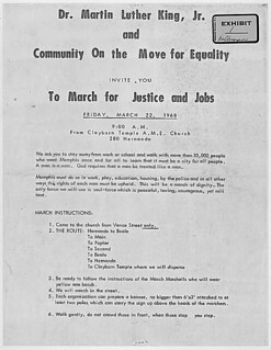 Exhibit 1 in City of Memphis vs. Martin Luther King, Jr, 1968 - 1968 | by The U.S. National Archives