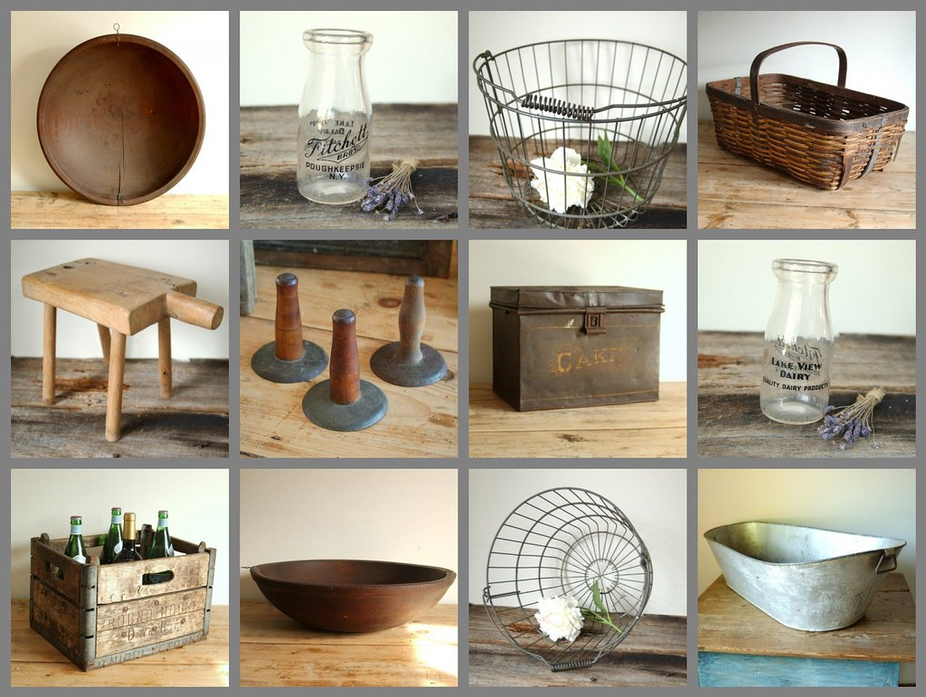 Farmhouse antique home decor collection new selection of a flickr - Vintage home decorating collection ...
