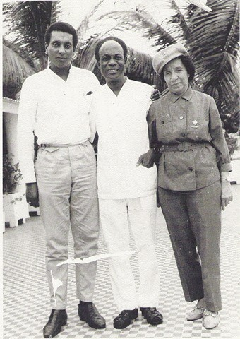 stokely carmichael of sncc kwame nkrumah of the cpp and s