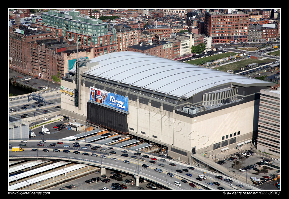Td Banknorth Garden Boston Aerial Of Td Banknorth