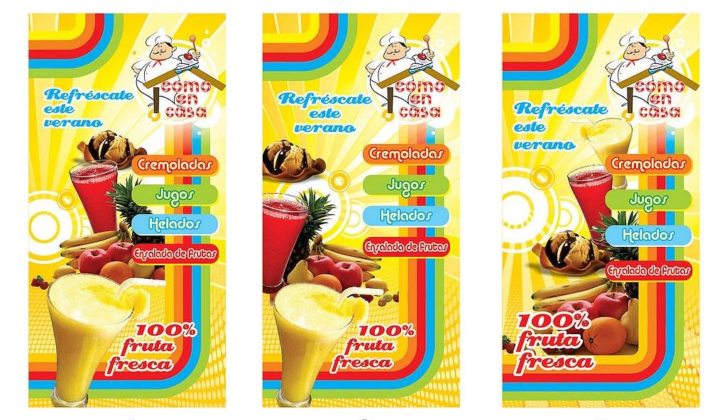 Fuente de soda como en casa propuestas para cartel for Sillas para fuente de soda