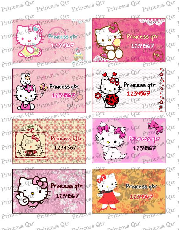 طوابع هيلو كتي Hello Kitty اجمل الطوابع لاجمل الاطفال 1