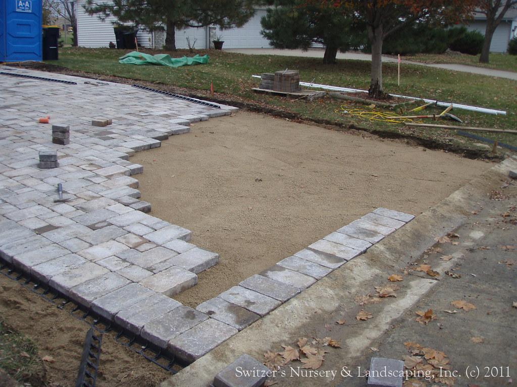 Interlocking Concrete Paver Driveway Borgert Paving