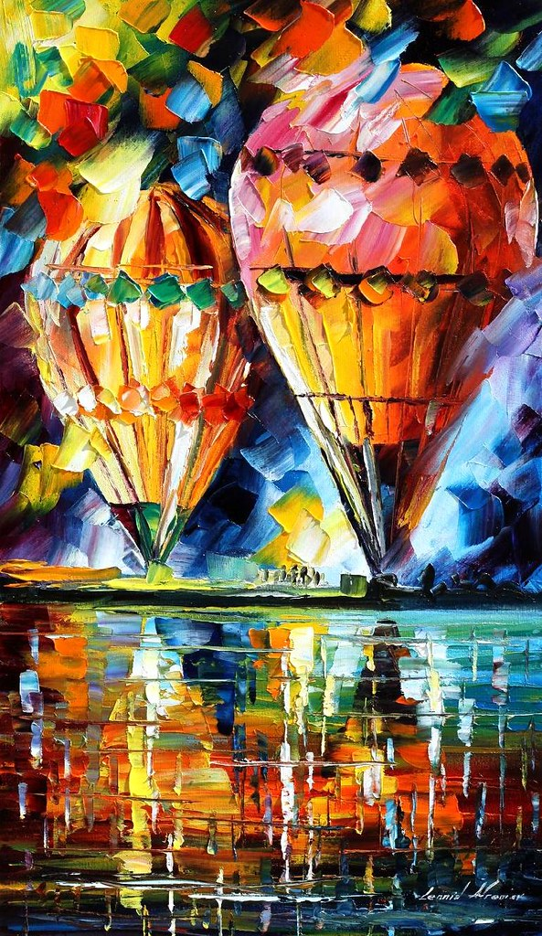 Canned Air Painting : Original oil painting by leonid afremov you can order