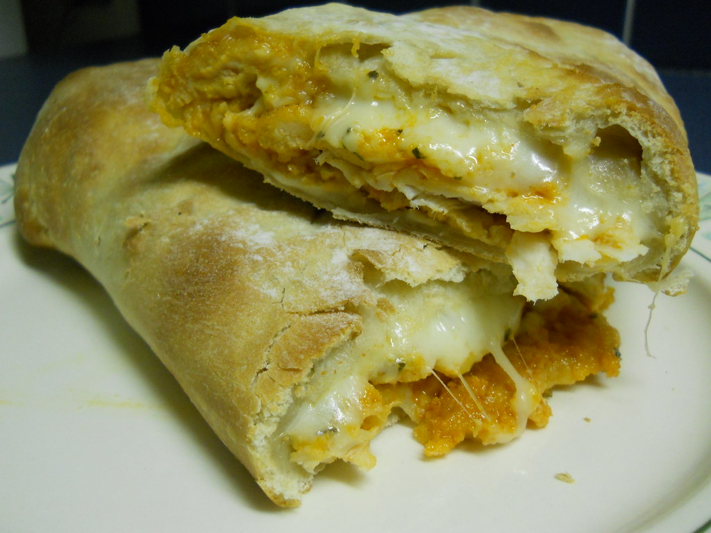 Buffalo chicken stromboli | this is so good!!! The cheese wa ...
