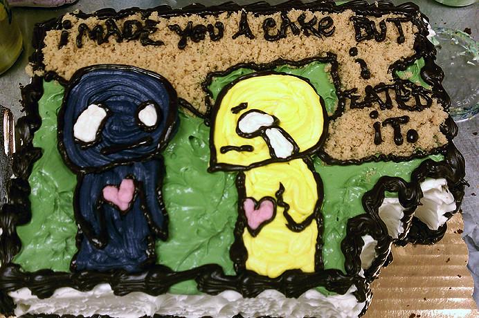 Pon and Zi by Azuzephre Emo Cartoon Cake by Tony Tone Ton Flickr