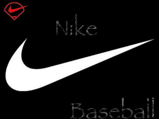 nike baseball logo i made this nike baseball logo for