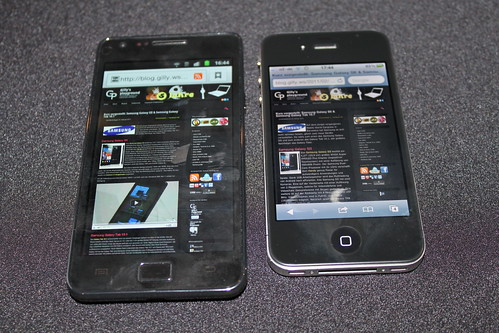 Samsung Galaxy SII und iPhone 4 | by GillyBerlin