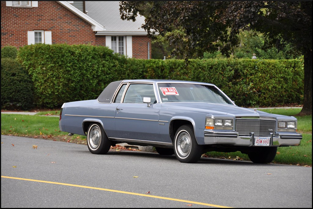 Cadillac Coupe De Ville A 1983 Model Yours For 2 950