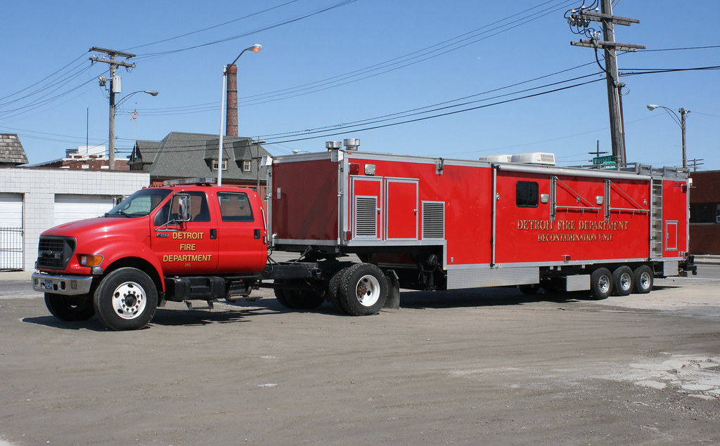 Detroit Fire Department: Decontamination Unit | Wheels, Wings, and ...