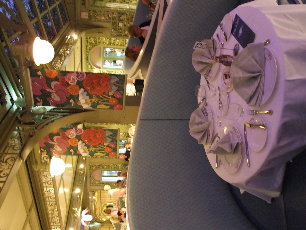 Disney Dream Enchanted Garden Dinner Table A Table Set F Flickr