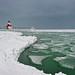 """Wintergreen""  St. Joseph Northpier Lighthouse, St. Joseph, Michigan"