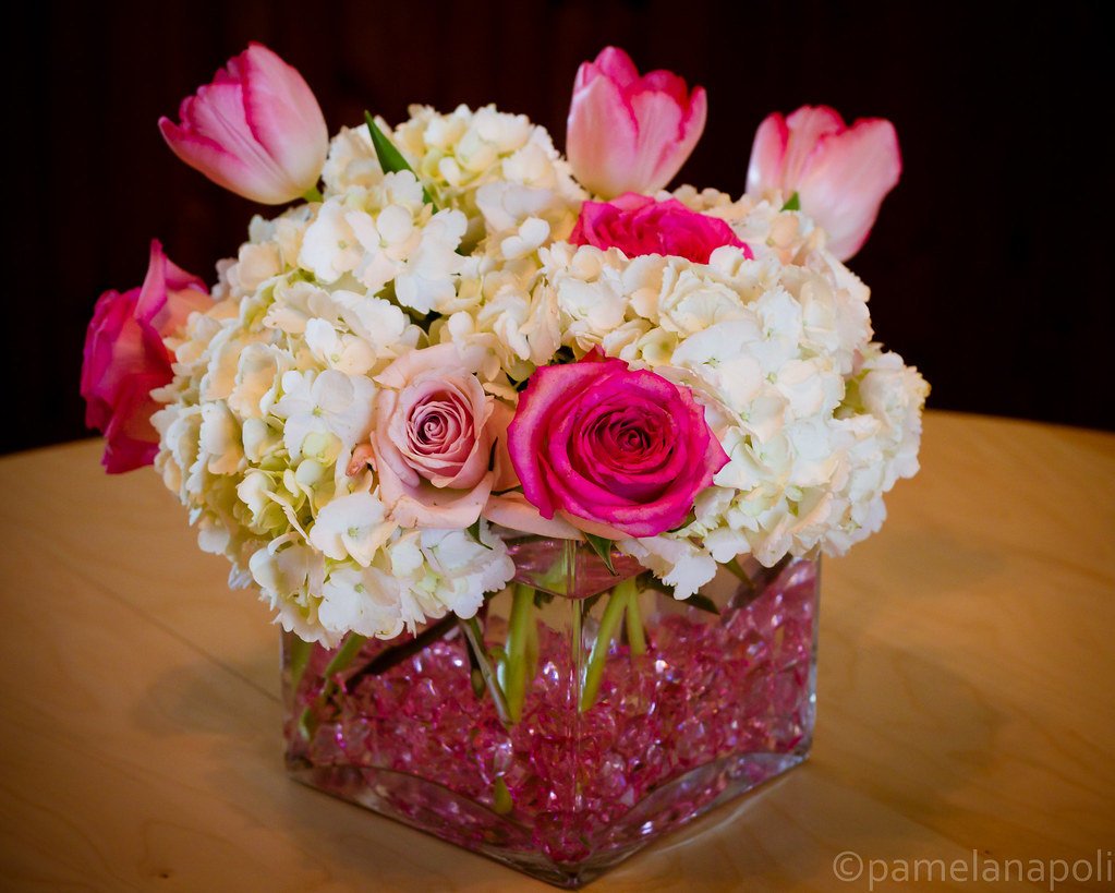 Baby Shower Flower Images ~ Baby shower centerpiece i got to take home the