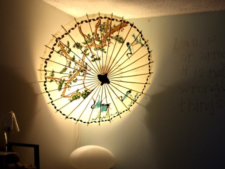 Chinese Parasol Quot Lamp Quot Amazing What A Great Lamp A Paper