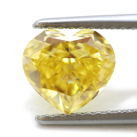 Canary Yellow Diamond Ring Cz