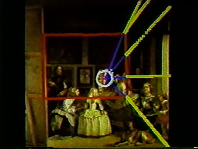 las meninas still from the through the looking glass by diagram of art hair follicle diagram clip art #9