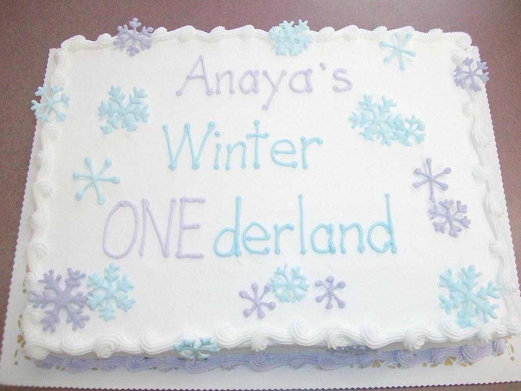 Anaya s Snowflake Cake