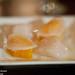 Scallop, ale carbonated citrus, turnip