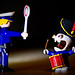 Playmobil VS Lapin Crétin