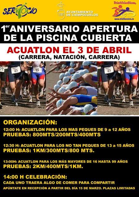 I aniversario piscina municipal de ciempozuelos el for Piscina ciempozuelos