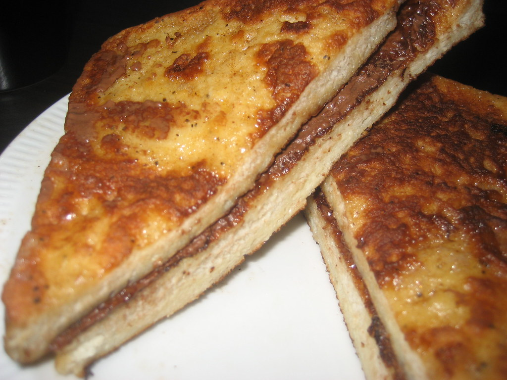 Nutella French Toast | I made Nutella French toast for break ...