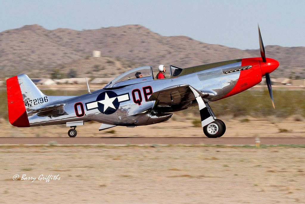 North American P51d Mustang Quot Red Dog Quot S N 44 74469 1944