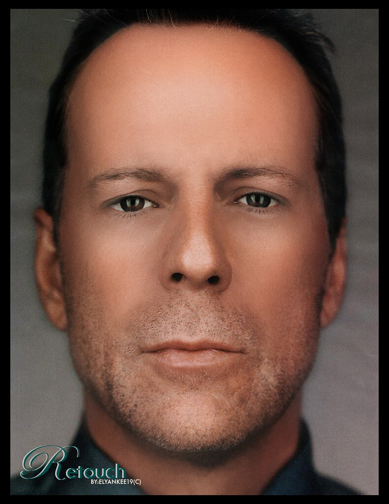 Bruce Willis Young (Re... Bruce Willis