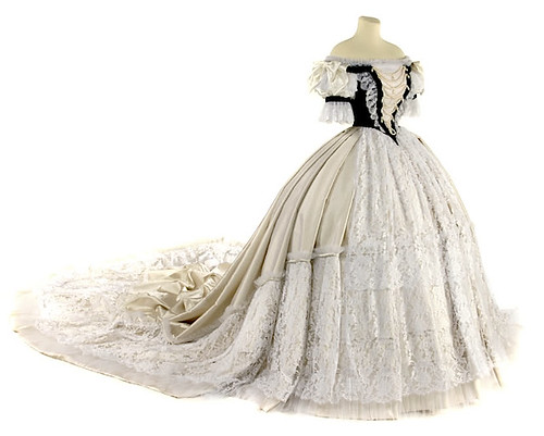 1867 replica of coronation gown worn by Sissi | by charleybrown77