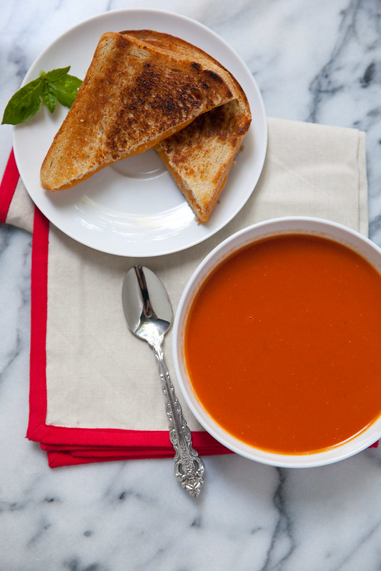 The Best Simple Tomato Soup