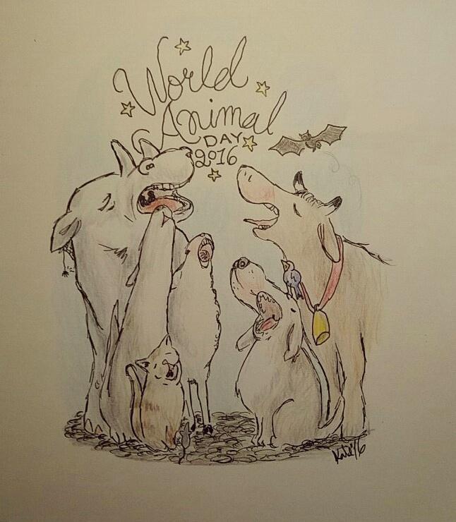 doodle dog doodledog ertrudsgn illustration muu bää vov