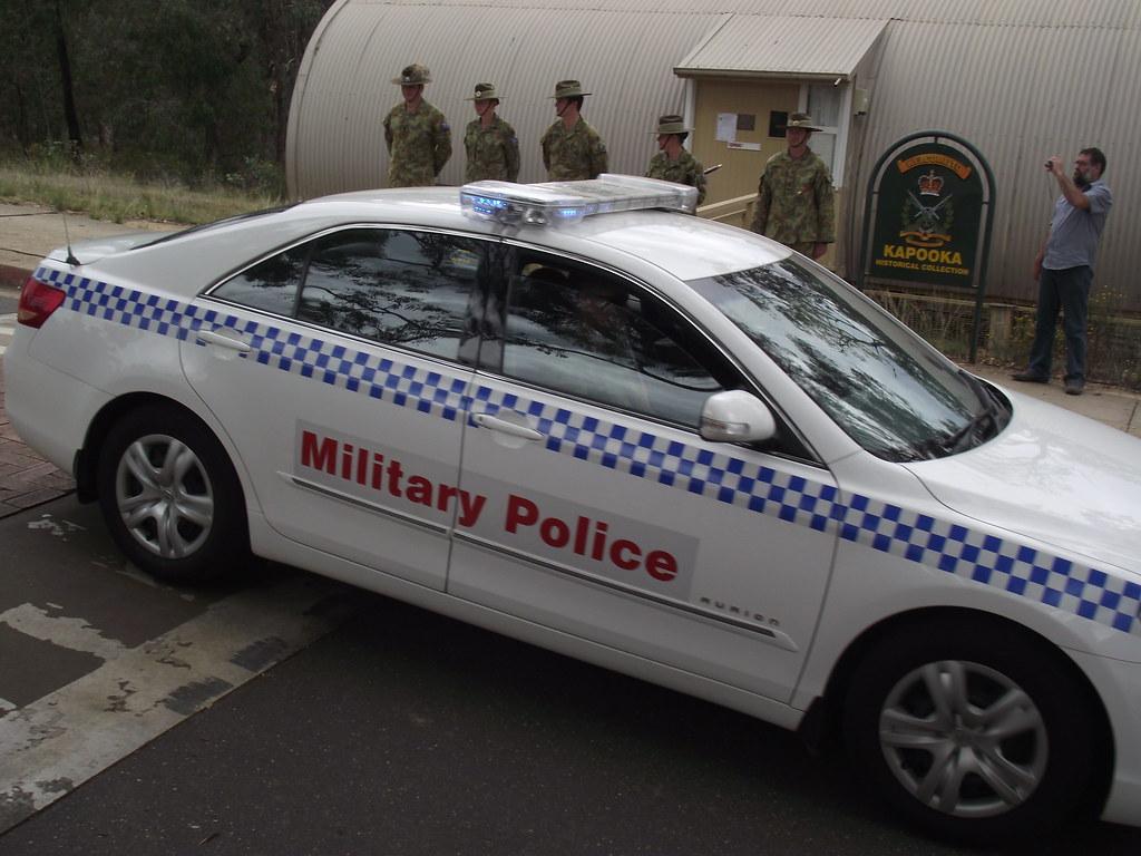 Military Police Toyota Aurion Sierratas Flickr