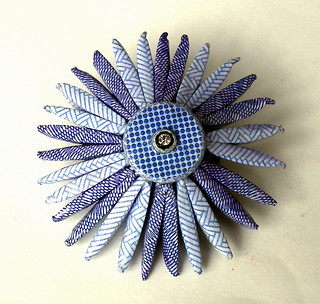 blue envelope brooch | by Liz Hamman