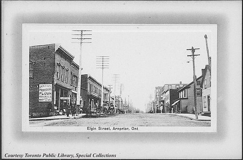 Arnprior (ON) Canada  city pictures gallery : Elgin Street, Arnprior, Ontario, Canada 1910 | by Toronto Public ...