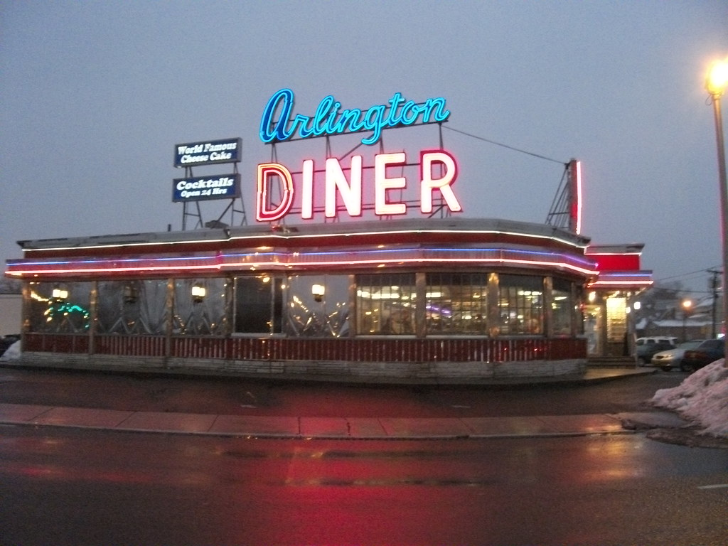 arlington diner arlington new jersey arlington diner flickr. Black Bedroom Furniture Sets. Home Design Ideas