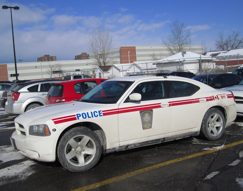 White Dodge Charger >> Canadian Forces Military Police Dodge Charger | Slick | Flickr