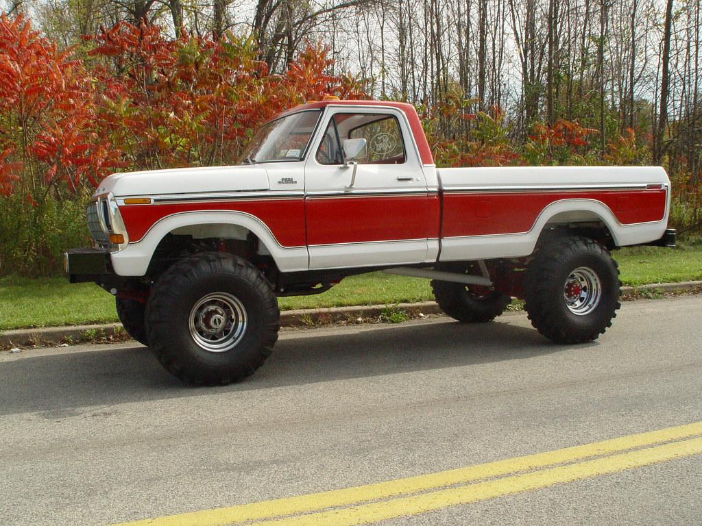 1978 ford truck | rebuilt 1978 f-250 4x4 400/c-6/NP-203 (con