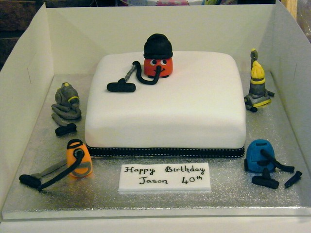 Henry Hoover Cake Toppers