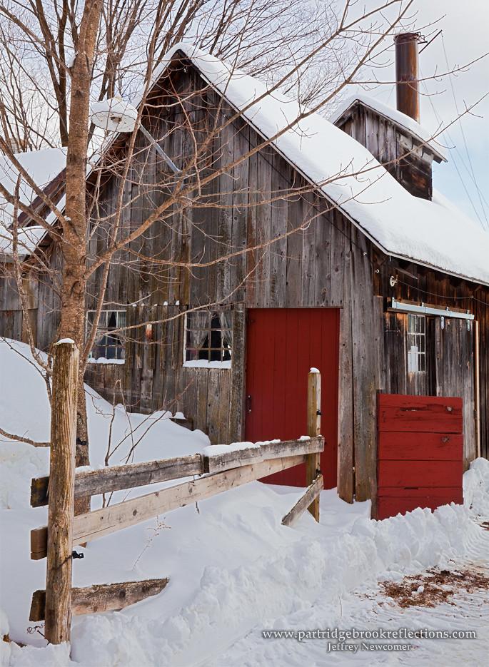 Red Door Sugar Shack In Marlborough Nh Jeffrey