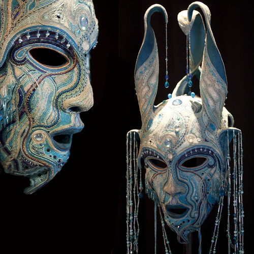 Gwynn Popovac - BioMythic Masks | by *Lynne