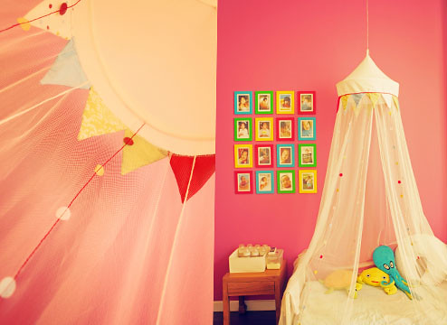 Menca's room with a canopy | by miaymarch.com