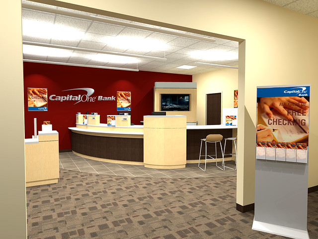 Bank Design - Capital One Bank Interior Design 1 | Flickr - Photo