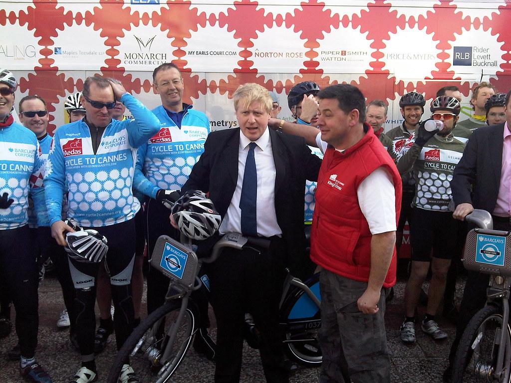 Boris Johnson John Oliver