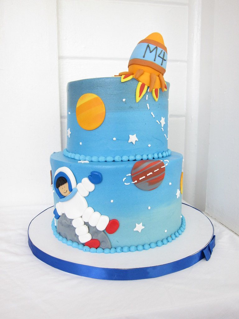 Astronaut Birthday Cake Images